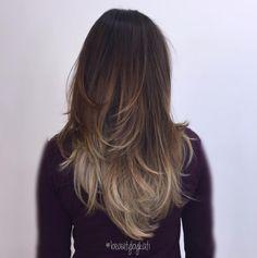 Beautiful brunette to bronde balayage by Kati - PR at Partners -  Belmont Chase at Ashburn