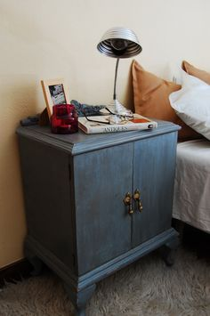 blue-grey night stands