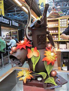 Chocolate Art from Sebastien Bruno, Mathallen, Oslo