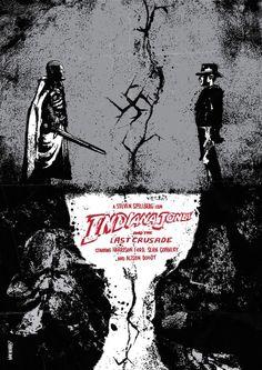 Indiana Jones & the Last Crusade - movie poster