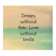 When we #learn to #love with out expect nothing in #return thats the #true #expression of #love  when you are willing to #dream without #fear and #love with out #limits #morning #thought :)  by fcoteco