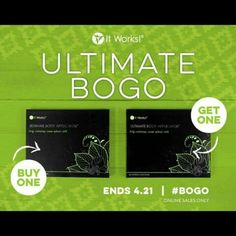 "Have you been curious about our wraps? Now is the best time to get a awesome deal!!! Through April 21st, our box of four Ultimate Body Applicators is Buy One Get One Free! That's 8 wraps for $59! Comment ""more info"" below or message me for details!!!  832-781-9508"