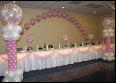 1000 images about quinceanera decorations on pinterest for Balloon decoration ideas for a quinceanera