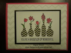 Vivid Vases Stampin' Up! Occasions mini catalog www.dianemorrill.stampinup.net