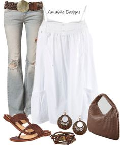 """""""Country Chic"""" by amabiledesigns ❤ liked on Polyvore"""
