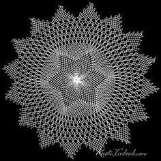 sunny : a net doily Crochet Curtains, Crochet Doilies, Needle Lace, Doily Patterns, Handicraft, Sunnies, Knots, Weaving, Bling
