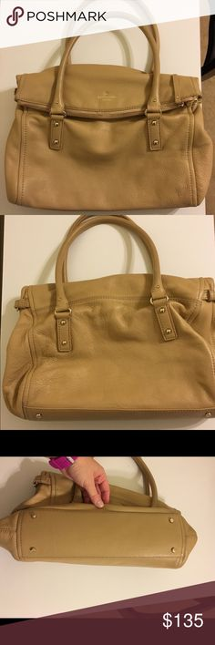 Kate Spade Purse Kate Spade Cobble Hill Leslie Satchel.  Soft leather, large zipper compartment, large compartment with two wall pockets and one zipper pocket.  This bag would make an awesome gift.  Non smoking Home. Open to offers! kate spade Bags