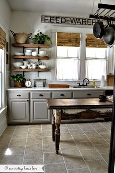 Totally Difference Farmhouse Kitchen Cabinets 29