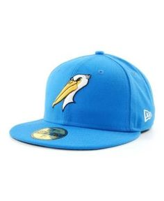 New Era Myrtle Beach Pelicans MiLB 59FIFTY Cap - Blue 7 1/8
