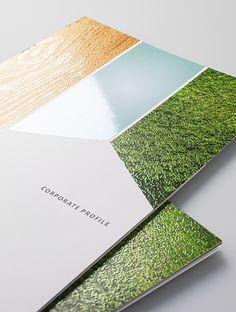 インテリア製造 会社案内作成・デザイン制作|会社案内 パンフレット専科 もっと見る Pos Design, Layout Design, Design Art, Graphic Design, Brochure Cover, Brochure Design, Pamphlet Design, Corporate Profile, Office Prints