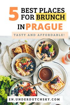 Looking for where to have brunch in Prague? In this post, I share 5 most recommended places for Brunch in Prague by the locals. They are all in Prague City Center and easy to find! Enjoy the best brunch in town to start your beautiful day in Prague. Prague Food, Prague City, Best Brunch Places, European Travel Tips, Travel Europe, Travel Destinations, Prague Travel Guide, Potatoes In Oven, Mellow Yellow
