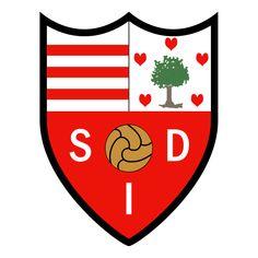 SD Indautxu of Spain crest. Bilbao, Sports Clubs, Sports Logos, Soccer World, Crests, Porsche Logo, Sd, Spain, Vector Format