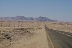 way to Swakopmund