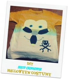 DIY Dusty Crophopper Homemade Halloween Costume Ideas from Disney's Planes | Homemade Halloween Costume Ideas - Mindfully Frugal Mom