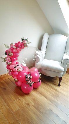 Pastel Balloons, Bubble Balloons, Balloon Flowers, Balloon Bouquet, Balloon Crafts, Balloon Gift, Balloon Garland, Happy Birthday Foil Balloons, Birthday Balloon Decorations