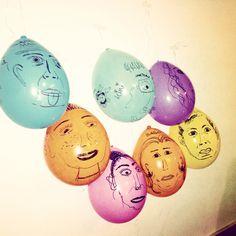 Ballon faces