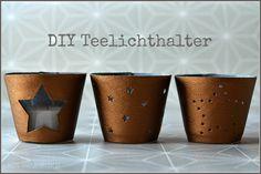 Teelichter aus Kunstleder