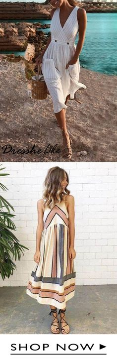 Shop the latest fashion chic dresses online, we offer the hot trendy high-quality dresses, clothes and other fashion products for women. Sexy Dresses, Fashion Dresses, Summer Dresses, Chic Dress, Dress Up, Mode Outfits, Mode Inspiration, Buy 1, Pretty Outfits