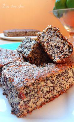 serniko makowiec www Gluten Free Recipes, Healthy Recipes, Sweets Cake, Dream Cake, Pudding Cake, Love Eat, Polish Recipes, Christmas Appetizers, Pumpkin Spice Latte
