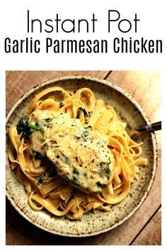 IP garlic Parmesan chicken