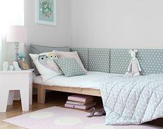 Jak ochronić ściany w domu? Modułowy zagłówek tapicerowany do każdego mieszkania. Modular upholstered headboard   Cleo-inspire   Cleo-inspire