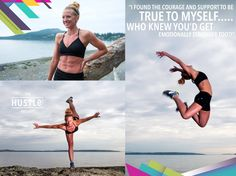 I found the courage and support to be true to myself. who knew you'd get emotionally stronger too! Who Knows, Hustle, Strong, Running, Bikinis, Photography, Racing, Keep Running, Bikini Swimsuit