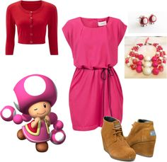 """""""Business Casual Toadette"""" by storyowl on Polyvore"""