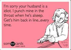 Haaaaa!!! Nothin like a good throat punch!!