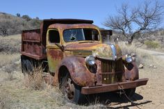 Ford truck in Ruby Ghost Town, Ruby AZ