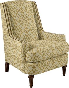 Arianna Stationary Occasional Chair by La-Z-Boy  Cover Type: Fabric  Cover Color: Citrus (D996542)