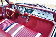 1963 Buick LeSabre Convertible: Interior 3 View