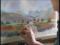 Extract from Painting with Pastels DVD by Jenny Keal - YouTube