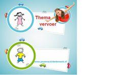 thema Vervoer  educatief en creatief thema voor kinderen in de Kinderopvang
