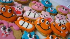 Amazing World of Gumball Cookies by Noey's Cookies