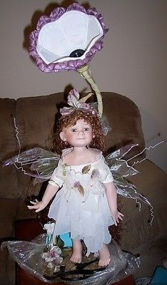 Duck House Heirloom Doll Lamp Angel Fairy TITANIA ~ #2132 of 5000 ~ Your bidding on an UNUSED displayed Angel Fairy Duck House Heirloom Doll Lamp. She was in a shop that closed. I listed it as used as
