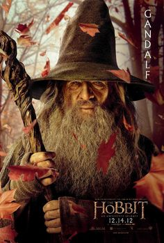 Ian McKellen as Gandalf in New Line Cinema& & Hobbit: An Unexpected Journey& - 2012 Legolas, Tauriel, Aragorn, Le Hobbit Film, The Hobbit Movies, Beau Film, Jrr Tolkien, The Hobbit Characters, Fantasy Movies