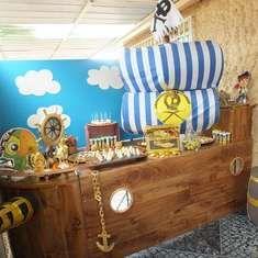 juego para fiesta pirata jacke y el primer aito de maximo jacke y los piratas de nunca jamas