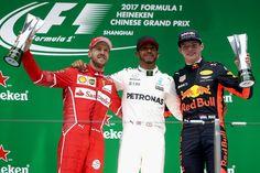 Pódio GP da China 2017