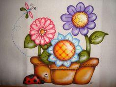Pintura em tecido | Flickr - Photo Sharing!