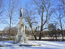 Hannah Dustin Monument Boscawen, New Hampshire - the girls have to see the monument in memory of their relative!