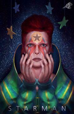 Starman in his Tesla, on the way to Mars. David Bowie Tattoo, David Bowie Art, David Bowie Makeup, David Bowie Wallpaper, David Bowie Album Covers, David Bowie Labyrinth, David Bowie Tribute, The Thin White Duke, Ziggy Stardust
