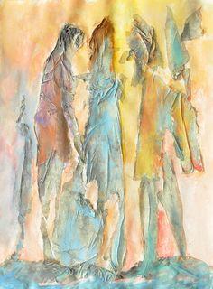 "Dibasar apartian; Acrylic, Painting ""COMPOSITION III"""