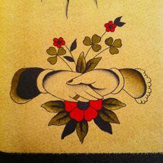 #maxbrain #traditional #tattoo #flash #hands #mani #flowers #fiori