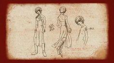 Novem  - Gilgamesh Anime - Official Concept Arts Screens