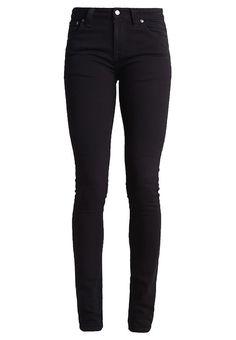 Nudie Jeans LIN - Slim fit jeans - black - Zalando.nl