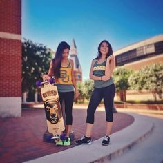 Absolutely love the Baylor skateboard! And the tank tops. And Baylor. #SicEm