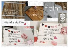 Pallet it for Valentine's day ♡. Pallet It -> facebook #pallet (https://www.facebook.com/Pallet.It)