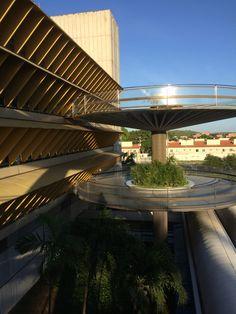 Centro de Neurorreabilitação Sarah Kubitschek  Fortaleza - CE João Filgueiras Lima (Lelé) Vista dos solários