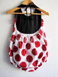 Primavera / verano festivo bebé niña mameluco/Boho por VivaBohoKids