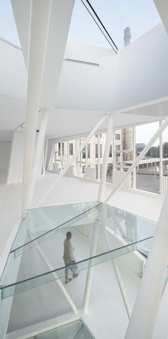interior of 798 ART SPACE by Thanlab Office, Beijing, China